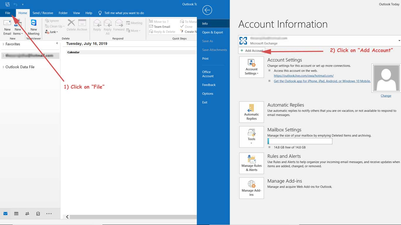 How-to-add-business-email-on-outlook