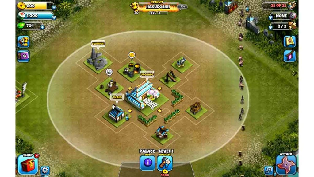 Clash of clan like games