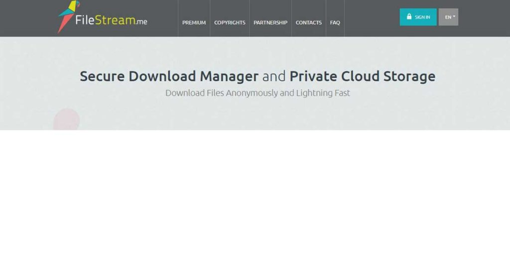 FileStream, best choice for anonymous torrent downloads.
